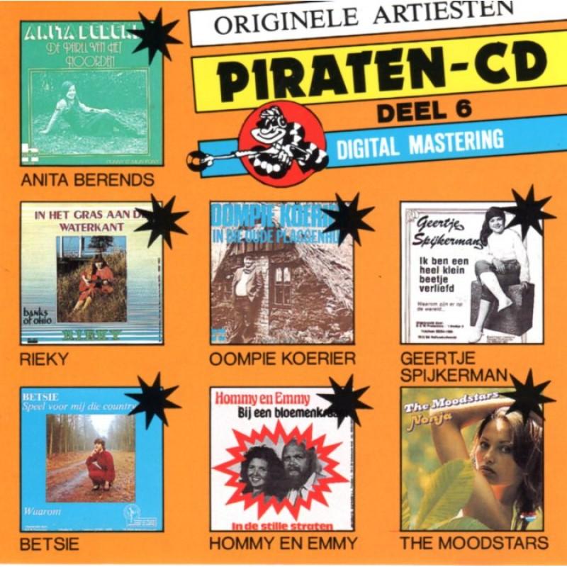 ORIGINELE ARTIESTEN PIRATEN CD DEEL 6