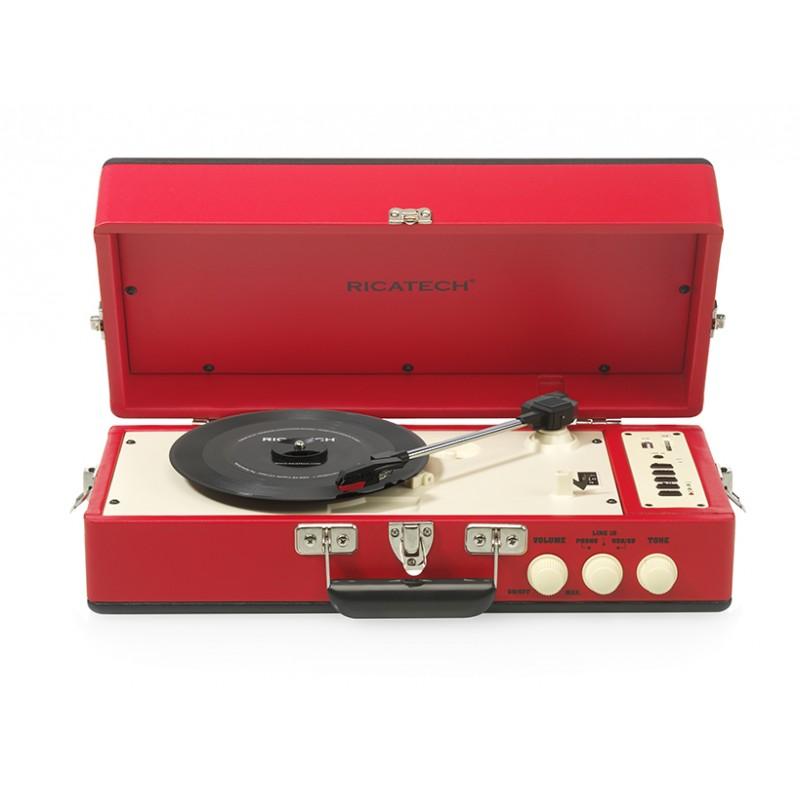 RTT98 Vintage Turntable Red