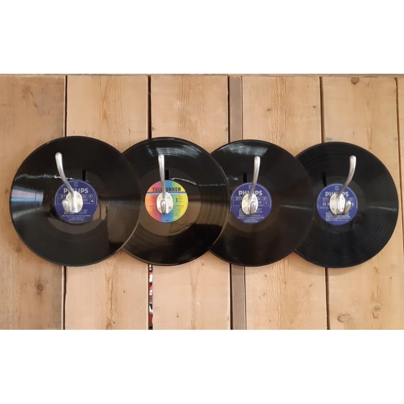 Vinyl Kapstok Handgemaakt!!