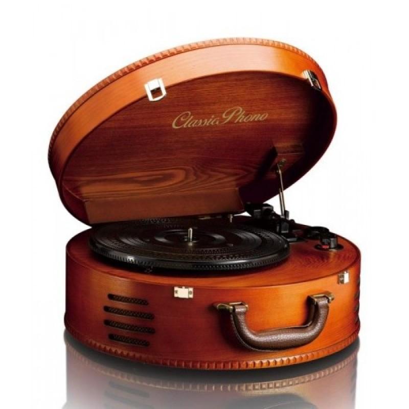 Classic Phono TT-34 - koffer Platenspeler met USB ...