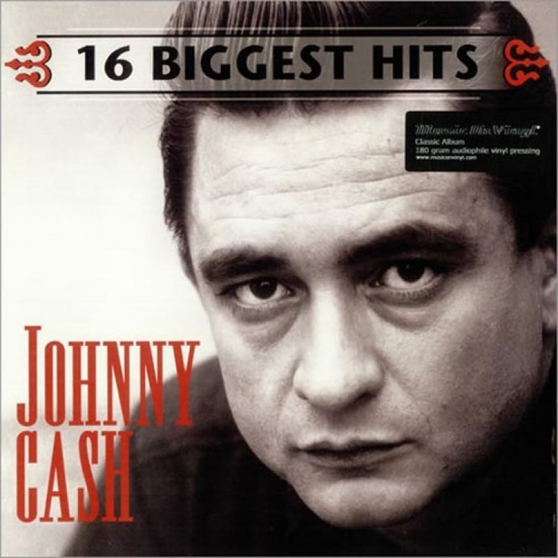 Johnny Cash - 16 Biggest Hits -LP