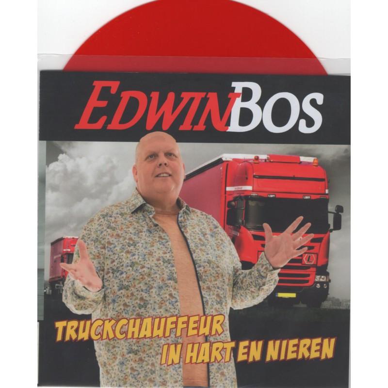 Edwin Bos - Truckchauffeur In Hart En Nieren [Rood...
