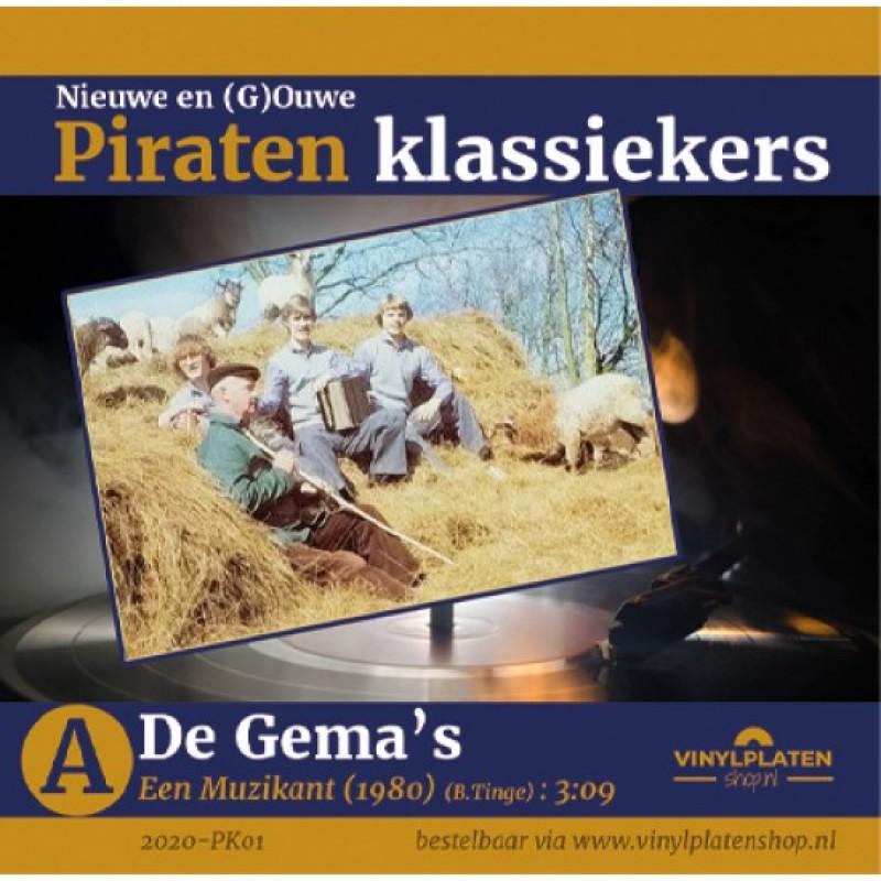 De Gema's - Een Muzikant - Piraten Klassiekers dee...