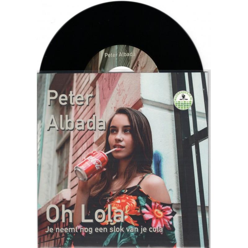 Peter Albada - Oh Lola [Zwart Vinyl] Met Gratis Po...