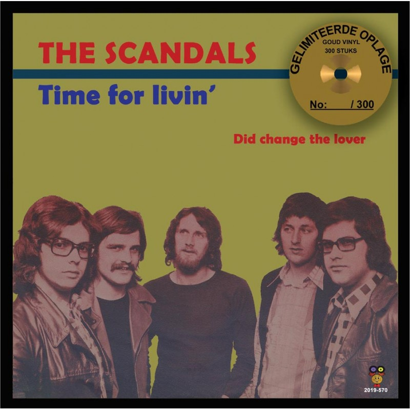 "The Scandals - Time for livin ""Goud Vinyl&quo..."