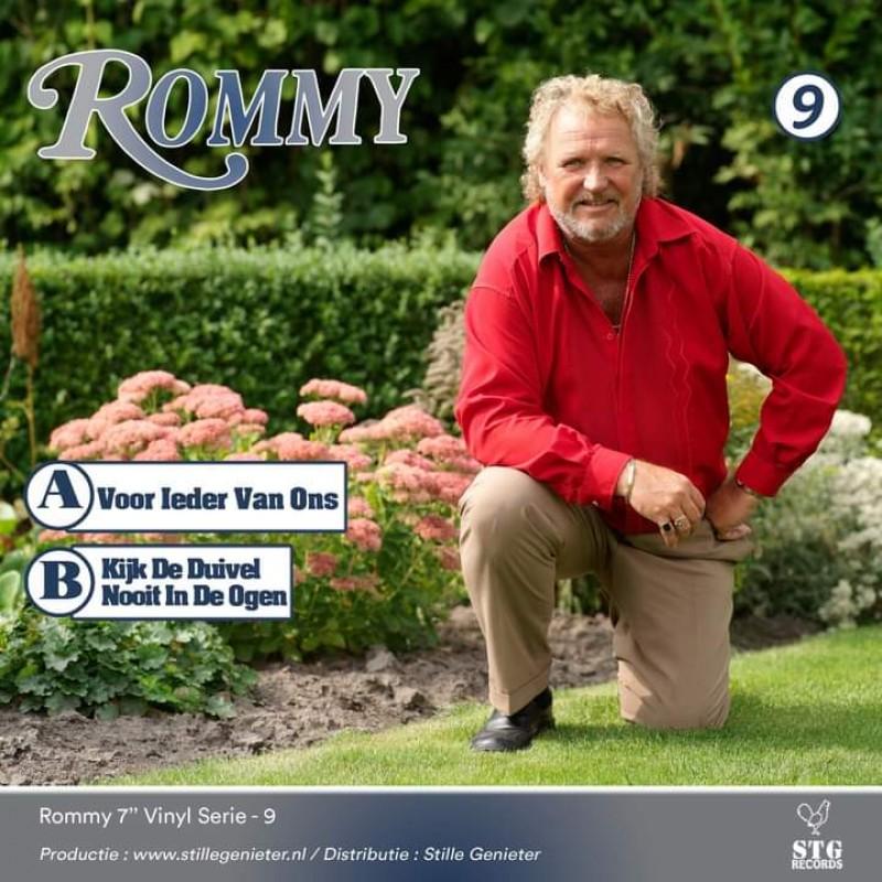 """7"""" Rommy - Voor ieder van ons - Deel 9"""