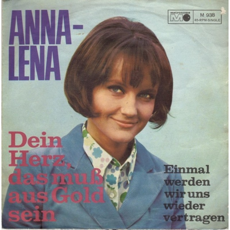 Anna-lena-Dein Herz, das muss aus Gold sein