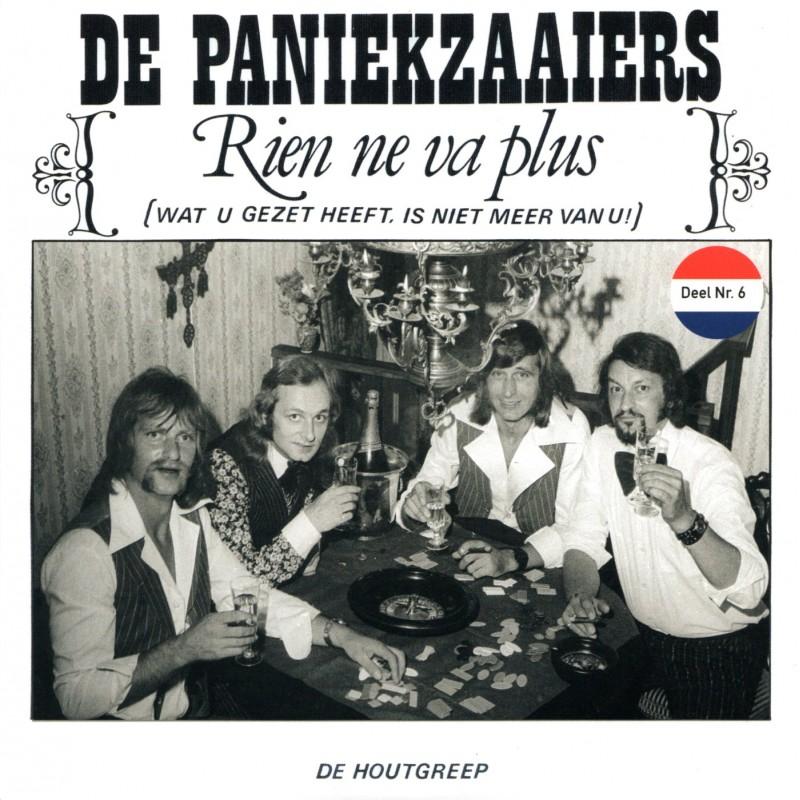 """7"""" De Paniekzaaiers - Rien Ne Va Plus - Muziekhoekje deel 6"""