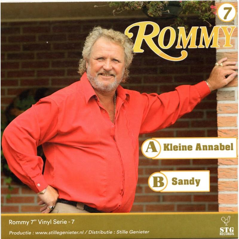 """7"""" Rommy - Kleine Annabel - Sandy - Deel 7"""