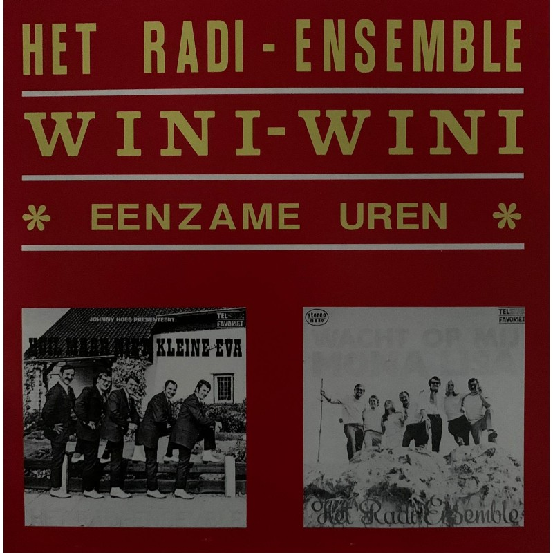 """7"""" Het Radi Ensemble - Eenzame uren UITVERKOC..."""