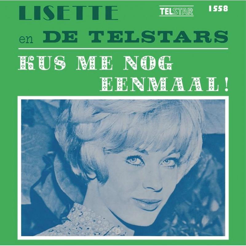"""7"""" Lisette En De Telstars - Kus Me Nog Eenmaa..."""