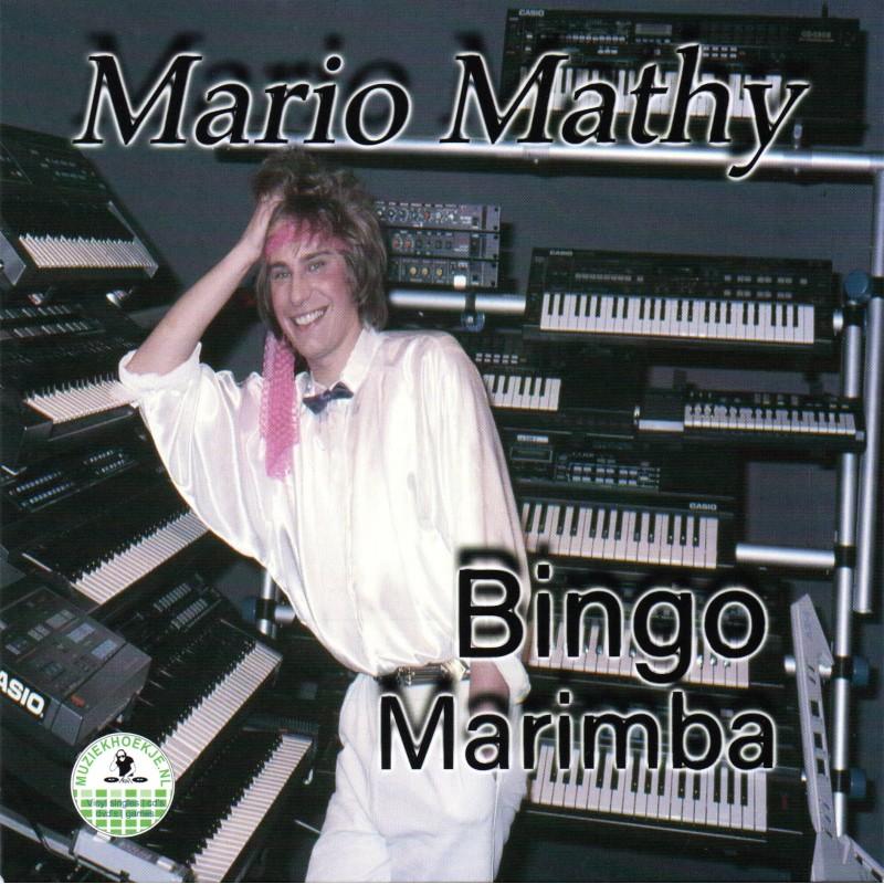 Mario Mathy - Marimba - UITVERKOCHT!